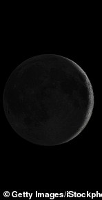 Amavasya (the phase of the Moon when it first appears as a thin crescent, immediately after conjunction with the Sun)