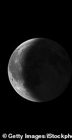 Waning Moon (when its visible surface area is getting smaller)