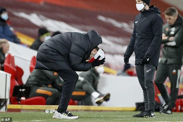 Jurgen Klopp's outbursts on the touchline have gone unpunished, claims Mourinho