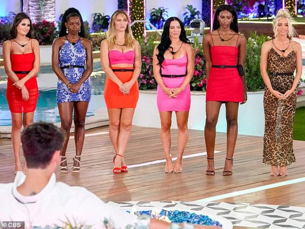 Rearing: The first season of the American version of the UK competition was set in Fiji, but season two had to take over at The Cromwell Hotel in Las Vegas amid the Coronavales epidemic;  Still from love island season two