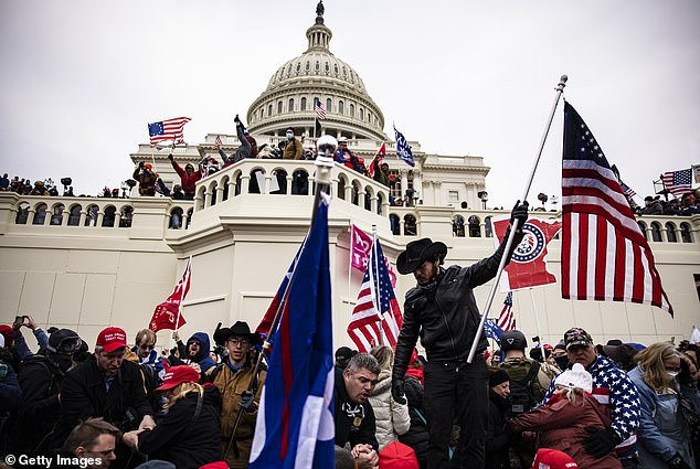Donald Trump supporters stormed the US Capitol on January 6 in a riot that left five dead. The pipe bombs are being considered as possible diversion tactics to lead law enforcement away from the area
