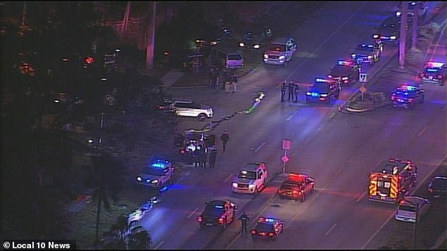 At least one FBI agent has been killed and several others injured while serving an arrest warrant this morning at a home in Sunrise, Florida that was related to a child porn investigation