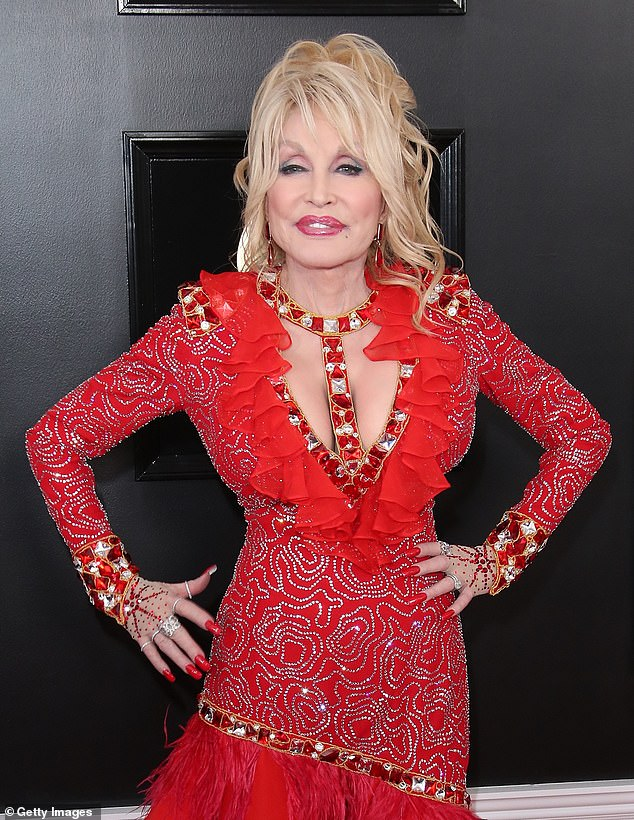 Waiting: Dolly Parton waited to get her COVID-19 shot despite donating $1 million to development of the vaccination and being eligible as she didn't want to jump the line