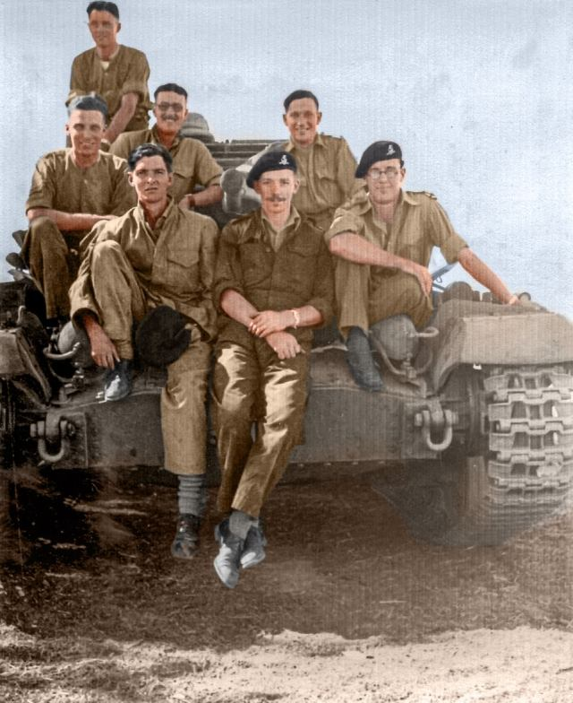 As an infantryman conscripted into the Duke of Wellington's Regiment in 1940, aged 20, he earned an officer's commission and fought in one of the most brutal arenas of the war, the Burma Campaign.'On every trip,' he said, 'I leaned forward, gassed the engine and roared through the jungle as fast as I could, trying not to think too much about the noise my machine was making or how close the enemy might be.'