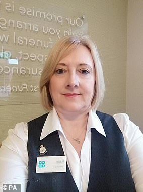 Tracie Sharp, who works in a Co-op Funeralcare branch in Midhurst, West Sussex, started work as a funeral arranger in April last year