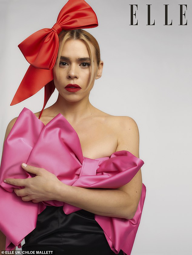 Honest:Billie Piper revealed she collapsed in a club at the age of 18 after 'days of Diet Cokes and Marlboro Lights' exacerbated her eating disorder in a candid essay shared on Thursday