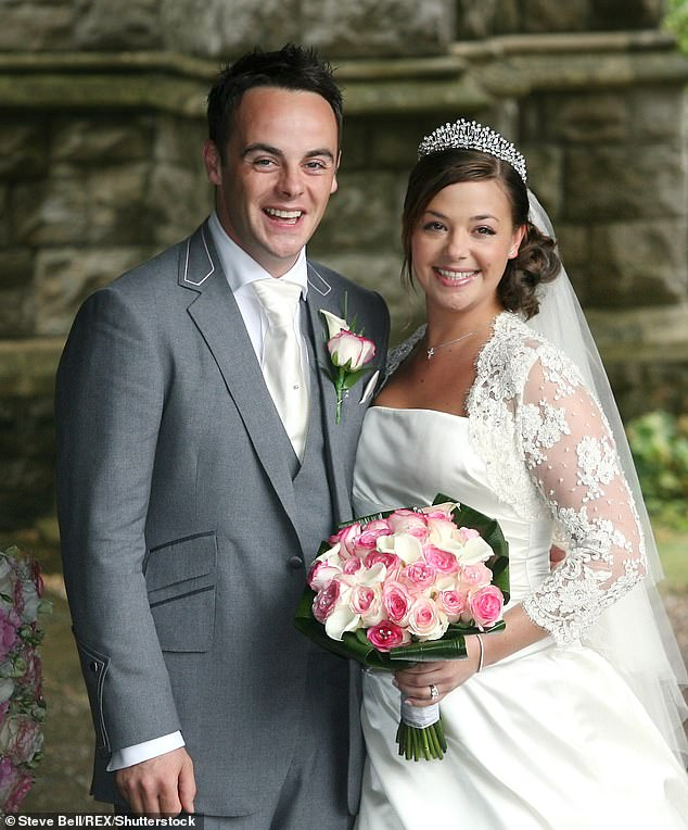 Second time lucky? '[Dec] was very good last time. He has been my best man. I've been his best man,' Ant said, referencing his failed first marriage to Lisa Armstrong [pictured] which lasted from 2006-2018