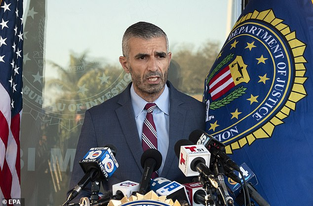The FBI has so far released very few details about the deadly shooting and a number of questions remain unanswered.The only official comments have come from George Piro, the head of the FBI's Miami field office, who said agents 'meticulously plan' and carry out search warrants almost every day