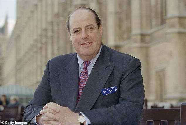 Conservative MP Sir Nicholas Soames, this article's author and the grandson of Sir Winston Churchill