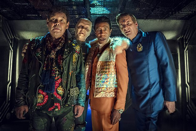 Naylor isclaiming £160,096.80, partly for allegedly unpaid invoices dating back to 2018. Together the pairdreamed up Dave Lister ¿ played by comedian and DJ Craig Charles ¿ and his fellow misfit spaceship companions