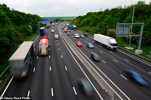 He also insisted that, following a safety drive since becoming Transport Secretary in summer 2019, the roads were now much safer and that death rates on conventional motorways are higher. Four lane Smart motorway above