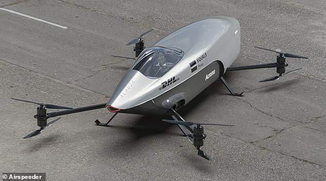 Named Airspeeder, it will initially be flown by a remote pilot and can take off and land vertically, according to its developers Alauda Aeronautics