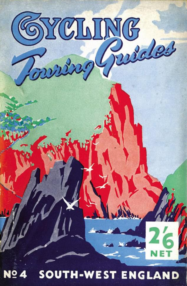 The cover of a Cycling Touring Guide written by Harold Briercliffe and published by Temple Press in the late 1940s