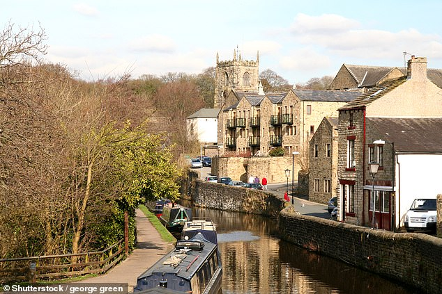 Skipton: Historic market town with a picturesque high street and canal