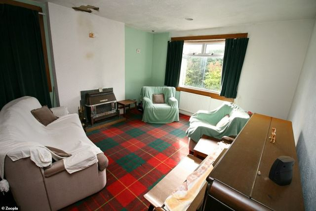 Additional money is required as the bungalow in Lanarkshire requires a complete refurbishment