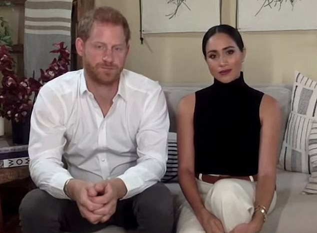 Harry and Meghan (pictured above) wanted a new life and by God, everyone now knows exactly why and understands precisely how they were wronged and undermined at every fraught step of the way, writes Jan Moir