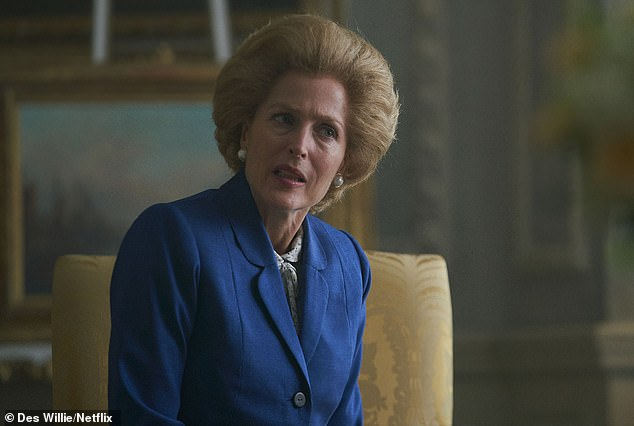 BBC Arts Editor Will Gompertz has criticised Gillian Anderson¿s depiction of Margaret Thatcher (pictured above) in The Crown (Netflix)