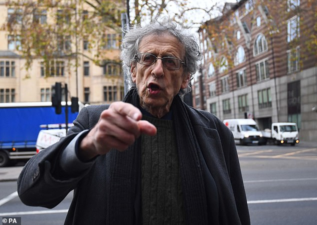 Piers Corbyn, brother of former Labour leader Jeremy Corbyn, arrives at Westminster Magistrates' Court, London, In December, after being charged with breaking coronavirus restrictions