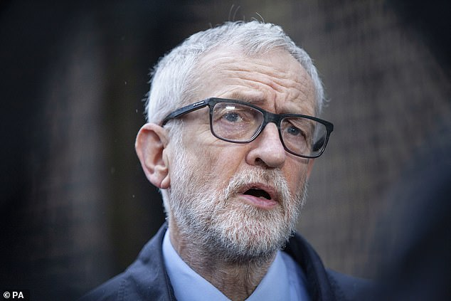 Former Labour leader Jeremy Corbyn is pictured in March last year. Corbyn's legal team are applying for disclosure of documents ahead of a possible legal challenge over his suspension