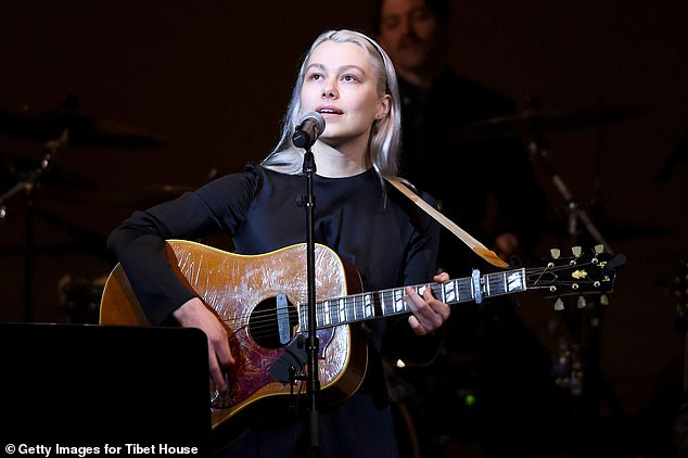 Bridgers said she 'stopped being a fan' following the incident and 'stand[s] by' the women who have accused Manson of abuse stretching back many years