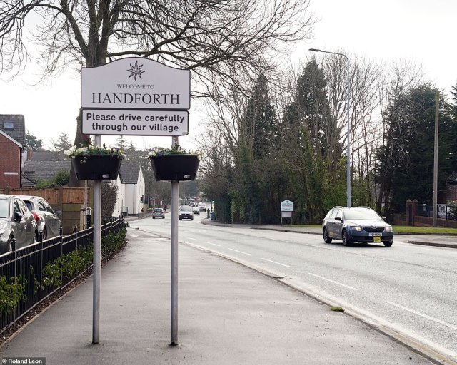 The small town ofHandforth in Cheshire, close to Manchester Airport, is known for its gigantic M&S and its quiet suburban streets - but many residents now know that its parish council is split by infighting and a battle for power
