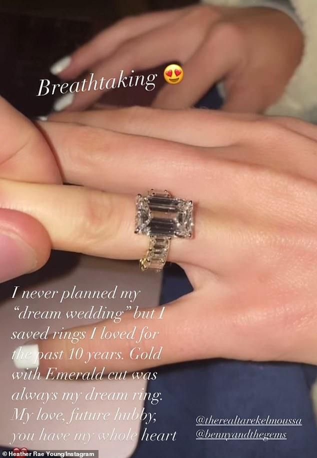 Christina Anstead Engagement Ring : christina, anstead, engagement, Heather, Young, Engagement, Diamond-covered, Tarek, Moussa