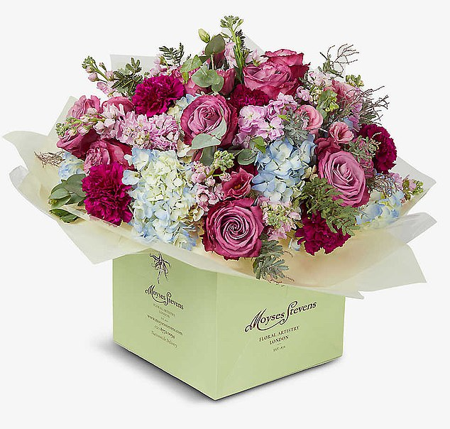 Experts at Selfridges are offering free 30-minute virtual consultations with their in-house florist Moyses Steven