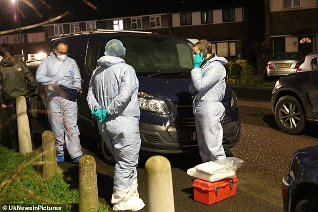 The force said a fatal stabbing of a man in Wisbeach Road, Croydon, at 8.10pm continues to be investigated by homicide detectives from the Specialist Crime Command