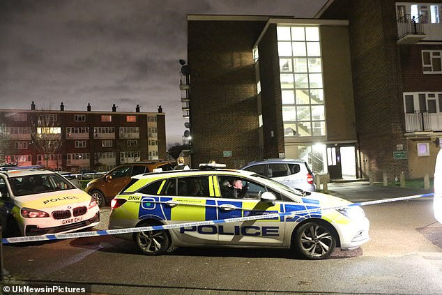 The night of violence began at 6.56pm in Croydon, with five separate reports of stabbings received between then and 9.12pm