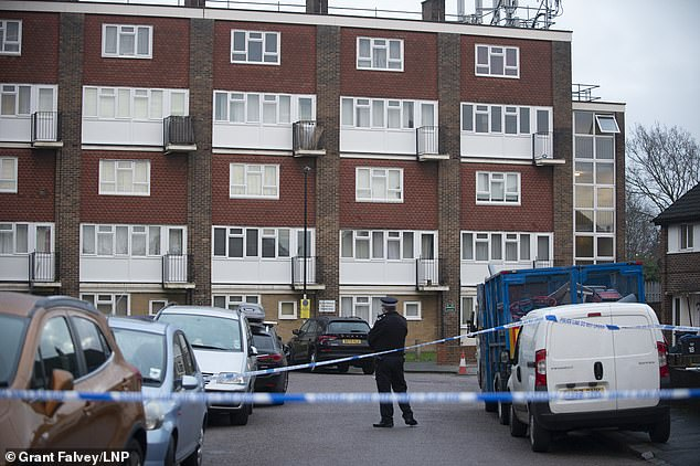 Police rushed to the scene to reports of two males with stab injuries, and one man was pronounced dead at the scene