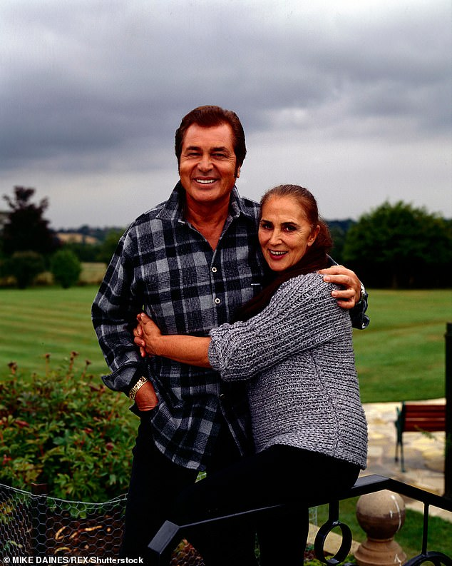 Soulmates: The couple's love story spans over 70 years (pictured in their Leicester home in 1999)