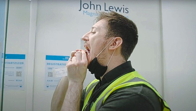 The 'daily contact testing' programme helped John Lewis and Tata save 8,000 potential sick days between them