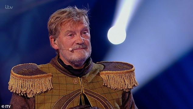 The Masked Singer: Glenn Hoddle was revealed as the Grandfather Clock