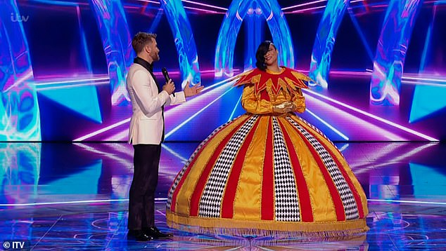 Final thoughts: After being revealed at the end of the show, Gabrielle said: 'I'm a very nervous performer and I thought by doing this maybe I can go out of my comfort zone'