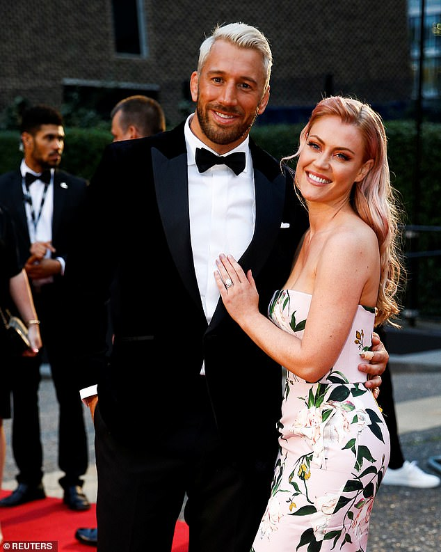 Announcement: The couple, who married in June 2018 after a three-year engagement, announced the pregnancy in February - Picture from 2019