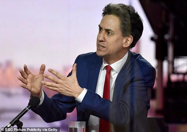 Ed Miliband, Labour's business spokesman, said vaccine passports 'may be necessary'