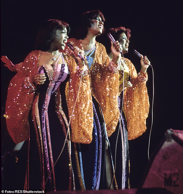 All over:The group finally disbanded following a farewell tour in 1977