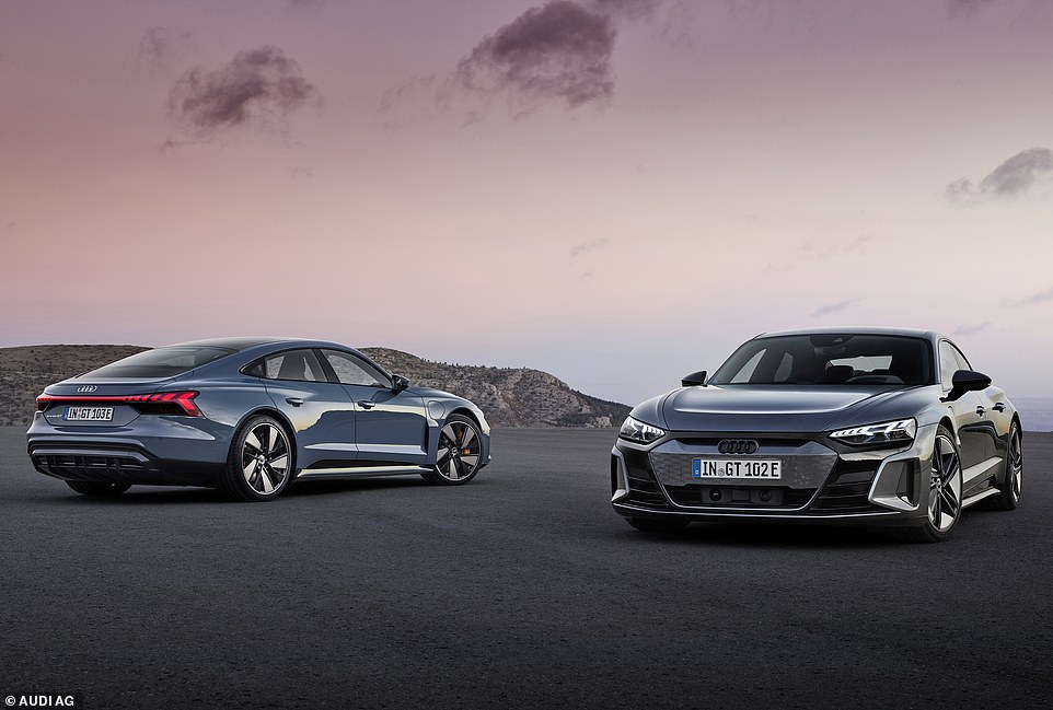 Audi's superhero electric car: This is the new Audi e-tron GT, a luxurious grant tourer that was previewed in the 2019 film, Avengers Endgame