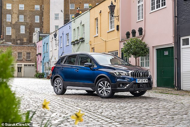 What Car? says buyers of theSuzuki S-Cross Hybrid can trim the £24,249 by 13.8% this month - a saving of £3,250