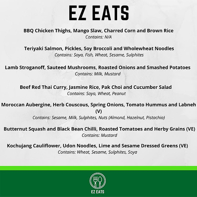 Inspired by friends doing a similar thing, he started his own meal delivery business, EZ Eats. The name might be seen as being short for 'Easy' but is based on his nickname 'Ez'