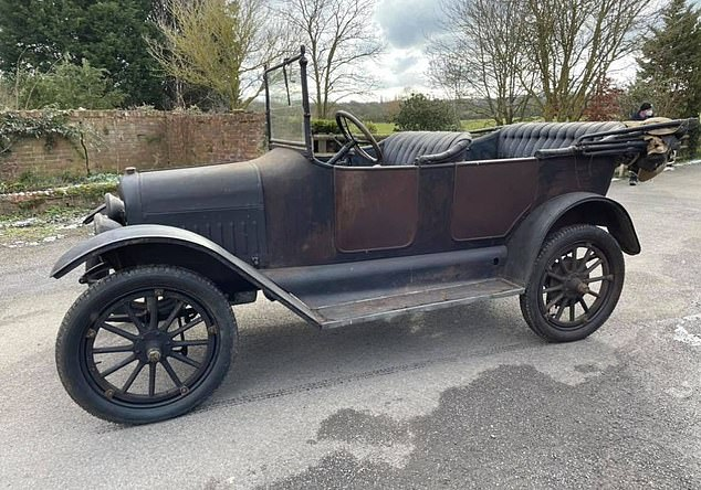 The Buckinghamshire company refurbishes vintage cars, usually ones which predate WWII