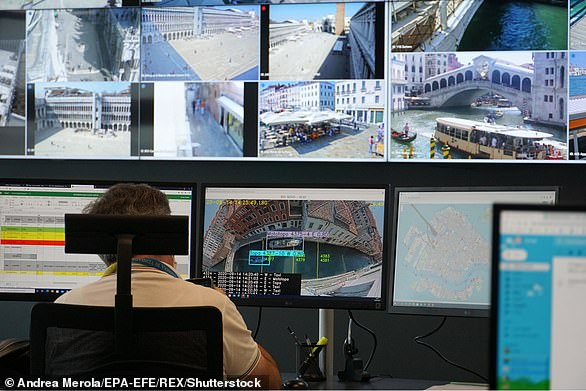 Visitors to Venice are being tracked via a new 'control room' that uses mobile phone data to log where they go, what they do, and where they're from