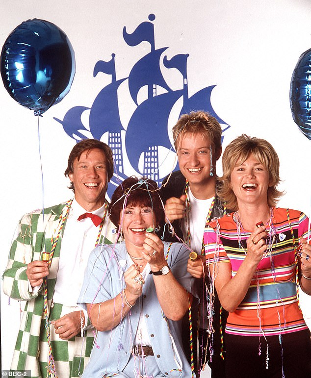 Turner is known for her stint presenting Blue Peter and was famous for her making segments