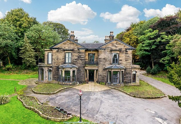 Grade II listed Soothill Manor near to Batley in Yorkshire will be up for sale at Strettons' 17 February online auction. The property has a guide price of £350,000 plus.