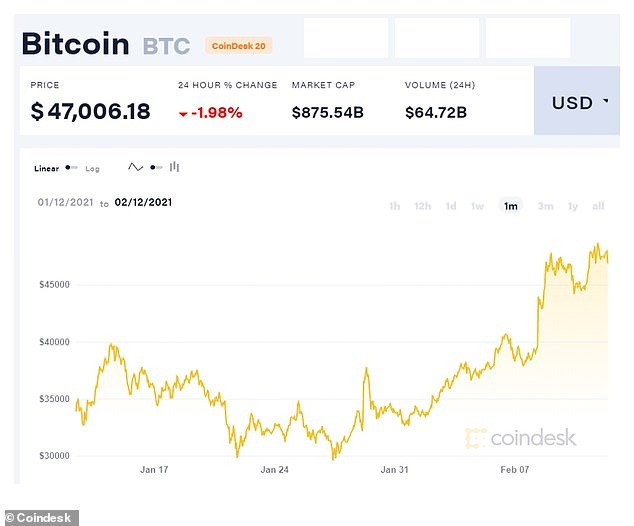 In the last month alone, Bitcoin fell below $30,000 and climbed over $48,000