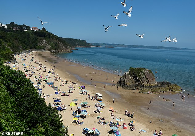 Location such as Tenby (pictured in 2019) are very popular with holidaymakers, who are critical for the economy in the area