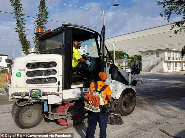 City workers (pictured) could choose to receive all or part of their salary in Bitcoin