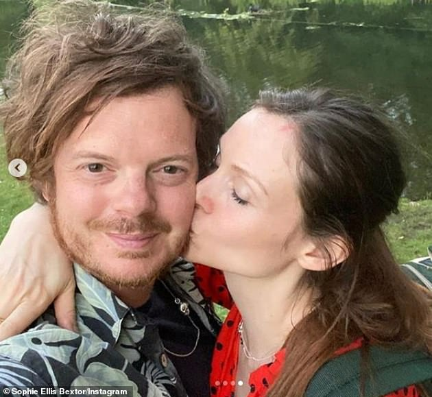 Family:The singer shares five sons with her The Feeling star husband Richard Jones who films the Kitchen Disco