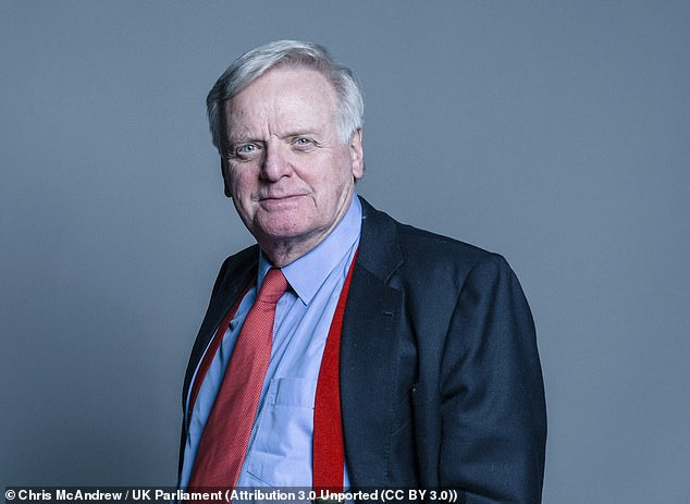 Lord Garde (pictured) wrote to Ofcom saying it must not be seen to be taking sides in the 'culture war' as it investigates whether Talking Pictures TV breached standards by showing an episode of comedy series Rogue's Rock on Boxing Day
