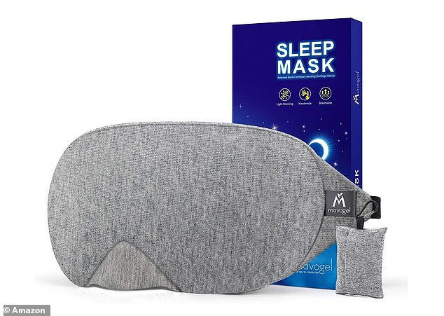 If you find that blocking out light helps you get your rest, this bestselling Mavogel Cotton Sleep Eye Mask (£6.99) may be just what you need
